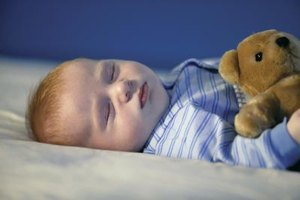 Your convenience, as well as your baby's needs, should determine his bedtime.