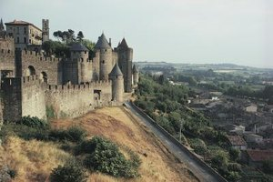 View the Cote d'Azur's fairy-tale castles from the window of a train.