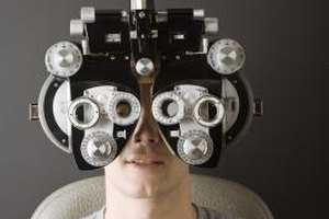 Teens with vision problems should schedule annual eye exams.