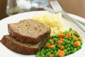 Bake a non-stick meatloaf for dinner using a silicone loaf pan.