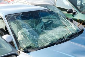 Storm damage to your car's window might qualify for a tax deduction.