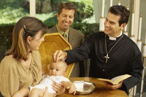How to Word Thank You Cards After a Baptism