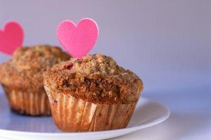 Muffins might be denser or chewier with a flour substitute.