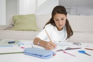 Finding a distraction-free homework spot helps your teen focus.