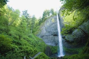 The Columbia River Gorge offers beautiful views and many recreational activities for families.