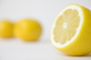 Lemon juice can keep cut produce fresher longer.