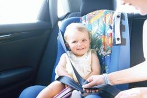 For your child's safety, don't move her to a booster seat too soon.