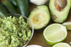 Fatty avocados balance bitter lime juice, making great tasting guacamole.