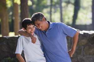 Being a positive role model helps shape your teen into the kind of person you want him to become.