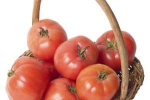 Some tomatoes have a strong, acidic flavor.