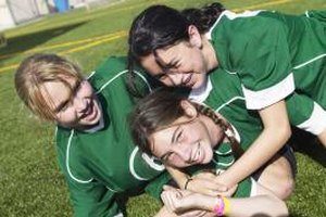Regular physical activity may help teen girls feel more confident.