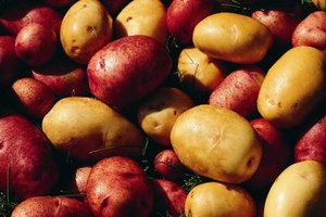 Smaller, waxier potatoes, like red and gold, freeze better than other varieties.