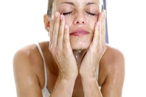 Washing your face with tepid water is gentler on your skin.