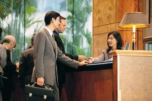 First impressions made at the front desk define a guest's stay.