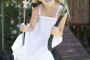 Little girls often aspire to be beautiful like princesses.