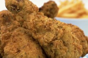 How you're preparing fried chicken influences ingredient quantities.