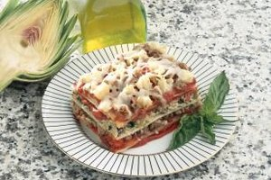 Round out a lasagna dinner with a traditional Italian salad and dessert.