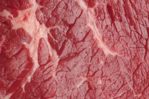 Most collagen is clearly visible on the meat's surface.