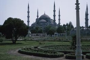 The Hagia Sophia reflects the complex layerings of Christian and Islamic traditions.