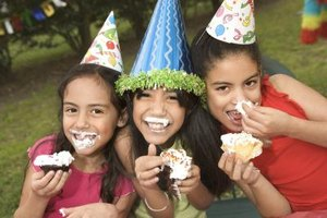 Have your guests make their own cupcakes for a fun twist on the traditional birthday cake.