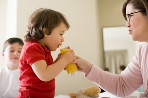 Can a 1-Year-Old Drink OJ?