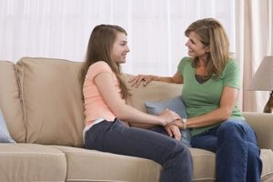 Be open and communicate with your teen about dating again.