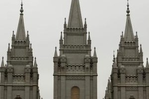 When entering a Mormon temple, you must wear the proper garments and clothing.