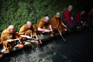 Buddhist Funerals & Water