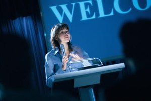 Speaking events advance both public affairs and public relations goals.