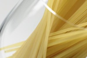 Dry pasta in all shapes and sizes freezes well.