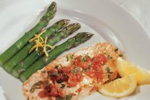 A simple salsa can dress up a boring grilled fish dinner.