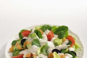Make a fresh salad one of your small daily meals.
