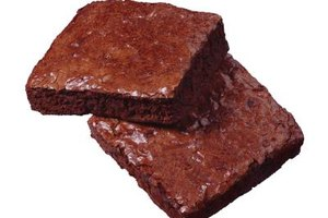 Add slightly more butter to your brownie batter than you would vegetable oil.