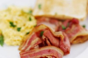 Frozen bacon remains food safe indefinitely, but its quality will deteriorate.