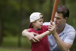 Baseball programs for 3-year-olds teach beginning skills and confidence.