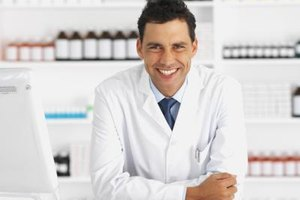 Oncology pharmacists prepare medicines for cancer patients.