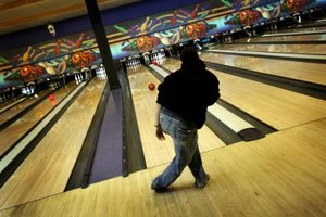 Bowl a few frames with your date at the Plano Super Bowl.