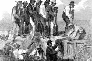 What Types of Work Did African Americans Have When the Civil War Was Going On?