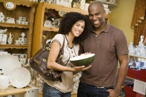 Create an anniversary gift for each other at a pottery shop.