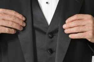 Tuxedo lapels come in three basic styles and convey different levels of formality.