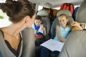 The backseat is the safest place for children under age 13.
