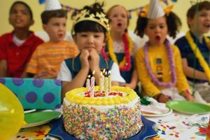 Schedule a birthday party at a local establishment to celebrate your child's special day.