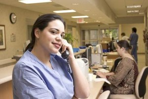 Medical assistants attend to the practice's routine daily duties.