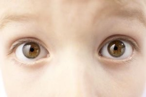 Children naturally have peripheral vision.