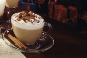 Cappuccinos, lattes and mochas incorporate both steamed and frothed milk.