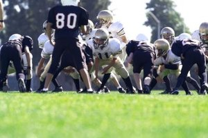 Choose the right exercises to get your young football players in shape.