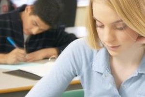 Placement tests test literacy skills, math skills, writing skills or technical skills.