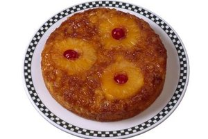 With pineapple upside-down cake, you want the cherries on the bottom.