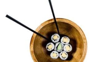 The exotic presentation and unusual flavors of sushi might delight your teen.