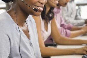 Some sales customer service coordinators work in call centers.